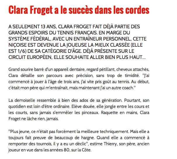 CodeSport Monaco | Clara Froget a le succès dans les cordes | Solidarite 2014-05-22 00-59-47